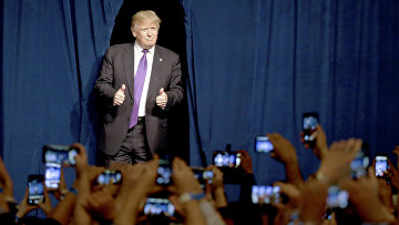 Кандидат в президенты от Республиканской партии Дональд Трамп в Лас-Вегасе, Невада, США. Архивное фото