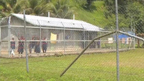 Вид на тюрьму в Папуа-Новой Гвинее. 26 февраля 2016
