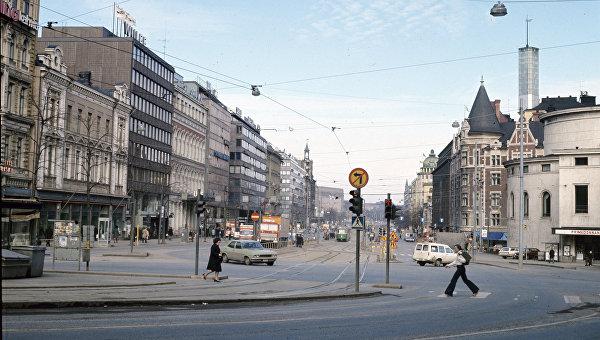 На улицах Хельсинки. Архивное фото