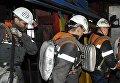 "Горноспасатели в шахте ""Северная"" в Воркуте. Архивное фото"