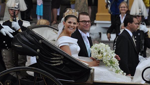 Кронпринцесса Швеции Виктория и Даниэл Вестлинг