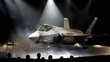 Истребитель-бомбардировщик Lockheed Martin F-35. Архивное фото
