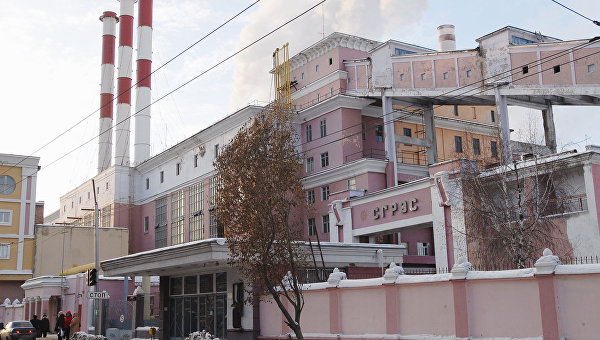 Самарская ГРЭС. Архивное фото