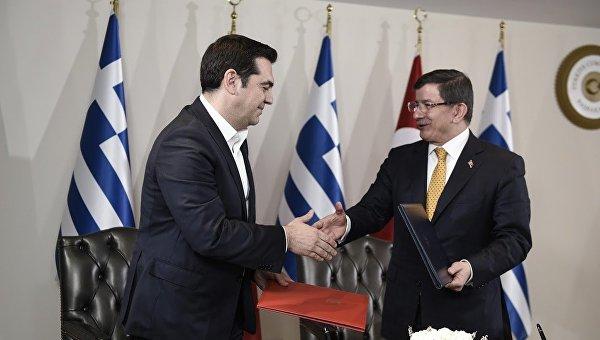 Совместная пресс-конференция премьер-министров Греции и Турции