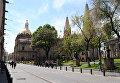 Кафедральный собор в мексиканской Гвадалахаре