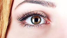 Человеческий глаз. Архивное Фото.