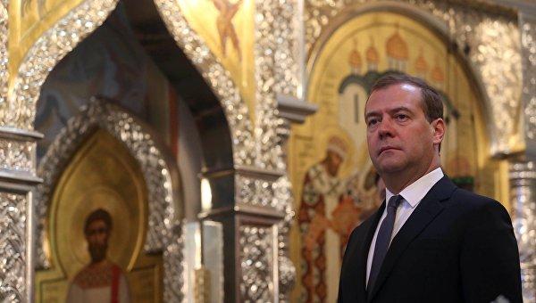 Д.Медведев принял участие в праздничных мероприятиях на Куликовом поле
