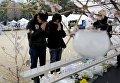В Японии почтили память погибших при цунами 2011 года, 11 марта 2016