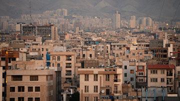 Вид на один из кварталов Тегерана
