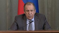 Лавров назвал проявлением слабости начало переговоров по Сирии без курдов