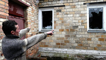 Разрушения жилого дома в поселке Зайцево. Архивное фото