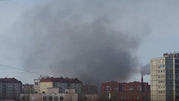 Пожар, Уфа, Сипайлово, 16 марта 2016