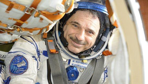 Космонавт Роскосмоса Михаил Корниенко. 25 февраля 2016