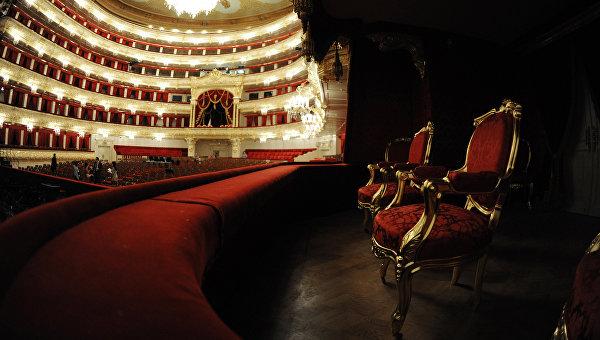 Интерьер Большого театра в Москве. Архивное фото