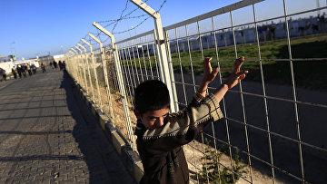 Лагерь беженцев на границе с Сирией. Турция, март 2016