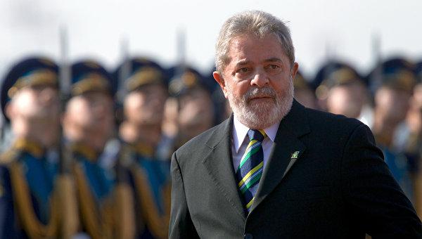 Бывший президент Бразилии Луис Инасио Лула да Силва. Архивное фото