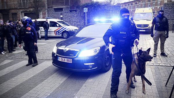 Полиция в Брюсселе. Архивное фото