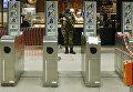 Военные в метрополитене Брюсселя. Архивное фото