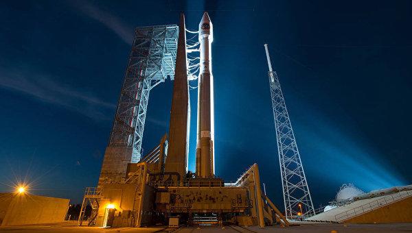 Подготовка к запуску на МКС космического аппарата Cygnus. 22 марта 2016