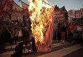Протесты в Аргентине против визита Барака Обамы