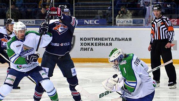 Хоккей. КХЛ. Матч Металлург (Магнитогорск) - Салават Юлаев