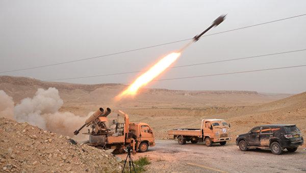 Сирийская армия и ополчение ведут бои за Пальмиру. Архивное фото