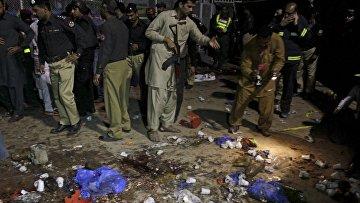 Взрыв в Лахоре, Пакистан, 27 марта 2016