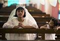 Празднование католической Пасхи в Индии