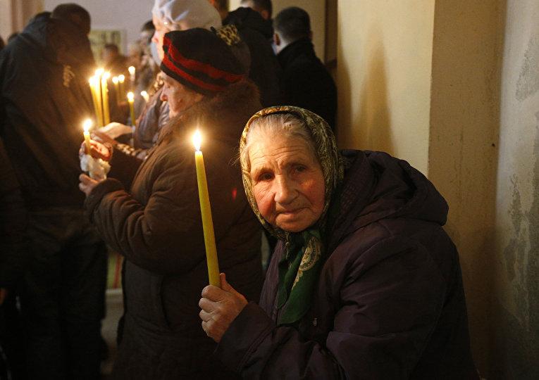 Празднование католической Пасхи в Белоруссии