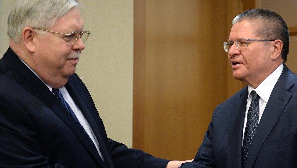 Улюкаев обсудил с Теффтом участие компаний США в приватизации в России