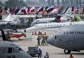 Международный аэрокосмический салон Латинской Америки FIDAE в аэропорту Сантьяго