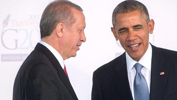 Обама желает увидеться сЭрдоганом 4сентября
