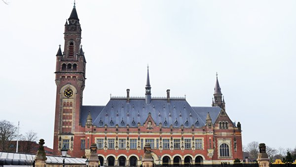 Здание Международного суда ООН в Гааге (Нидерланды)