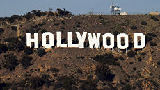 Знак Голливуда. Архивное фото