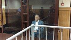 Депутат Заксобрания Санкт-Петербурга Вячеслав Нотяг в суде. Архивное фото