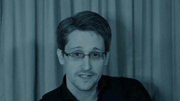 Видеоклип на композицию Жан-Мишеля Жарра Exit с участием Эдварда Сноудена