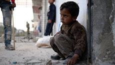 Ребенок в Сирии. Архивное фото