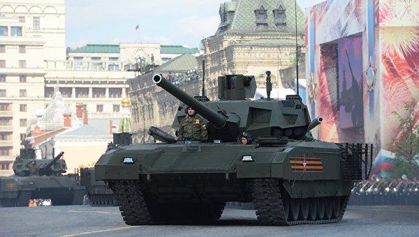 Минобороны назвало срок разработки беспилотного танка «Армата»