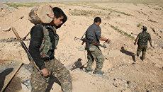 Бойцы сил сопротивления ИГИЛ в Синджаре, Ирак