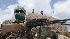 Сотрудники вооружённых сил Афганистана