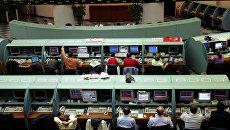 Трейдеры на Стамбульской фондовой бирже. Архивное фото