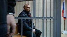 Вячеслав Бочарников - один из фигурантов дела о массовой драке на Хованском кладбище в Пресненском суде Мосвкы