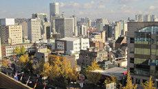 Жилой район Сеула. Архивное фото