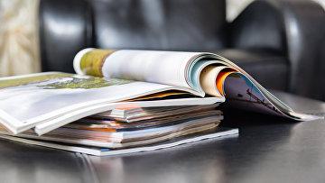 Стопка журналов. Архивное фото