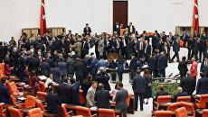 Заседание парламента Турции. Архивное фото