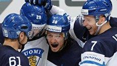 Игроки сборной Финляндии. Архивное фото