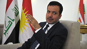 Спикер парламента Иракского Курдистана Юсуф Мухаммед Садык