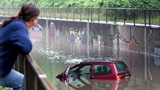 Наводнение в Оберхаузене, Германия