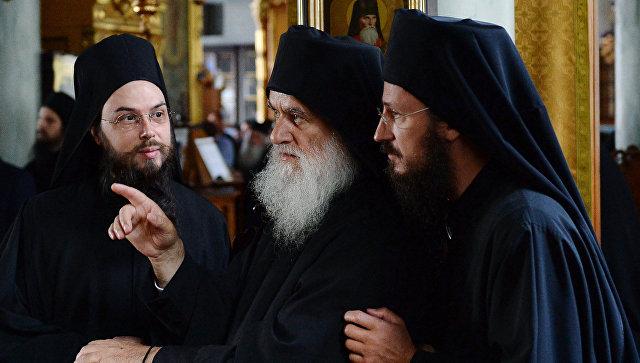 Афон. Монахи