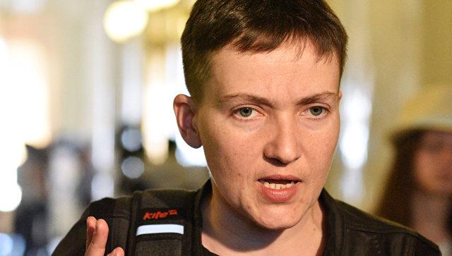 Глава ДНР назвал условия для встречи с Савченко